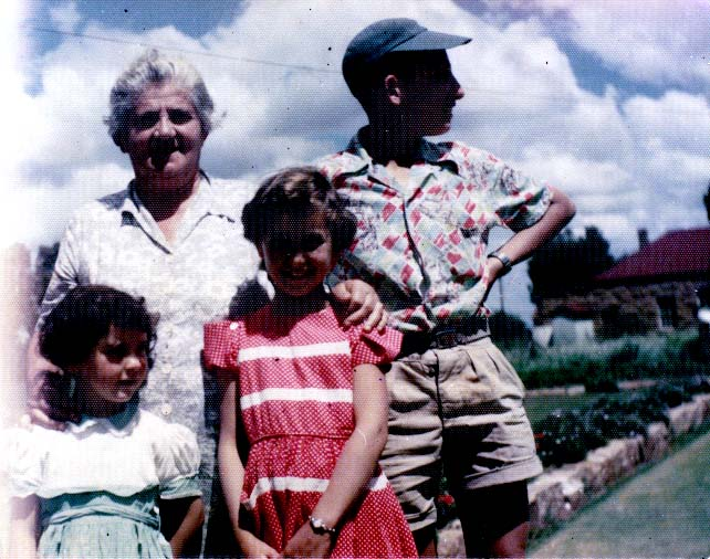 Who are these cousins in South Africa- 1955